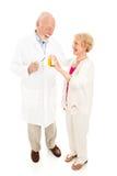 litad på pharmacist Fotografering för Bildbyråer