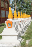 LITANG, КИТАЙ - 17-ое июля 2014: Белый парк пагоды известное landmar Стоковые Фотографии RF