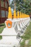 LITANG, CHINA - 17 Juli 2014: Wit pagodepark beroemde landmar Royalty-vrije Stock Foto's