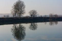 Litauen, regionaler Park Verkiu Stockfotografie