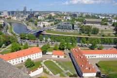 Litauen-Turm Gedymin Lizenzfreie Stockfotografie