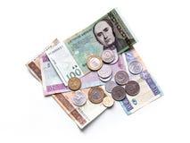 Litauische litas Stockfotos