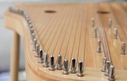 Litauisches aufgereihtes Instrument Lizenzfreies Stockbild
