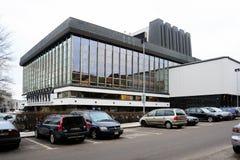 Litauisches nationales Opern-und Ballett-Theater Rochenpark und andere Gebäude Lizenzfreie Stockfotos