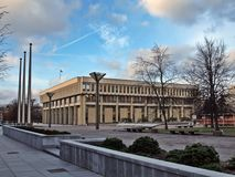 Litauisches Parlament - seimas Stockfotografie