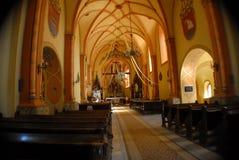 Litauisk katolsk kyrka Arkivbilder