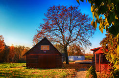 Litauisk lantlig hemman Arkivbilder