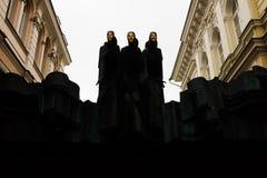 Litauisk nationell dramateater Arkivbild