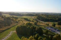 Litauiskt landskap Arkivbild