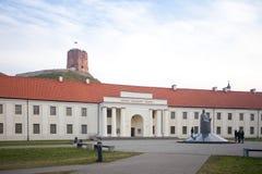 Litauiskt nationellt museum royaltyfri fotografi