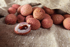 Litchi Royalty Free Stock Photos