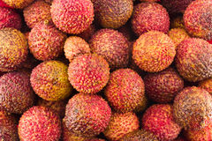 Litchi background Royalty Free Stock Photos