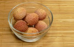 Litchi chinensis Royalty Free Stock Photos