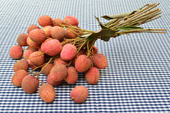 Litchi chinensis Sonn. Royalty Free Stock Photos