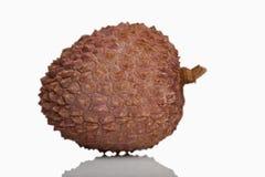 Litchi fruit (Litchi chinensis) close-up Royalty Free Stock Photos