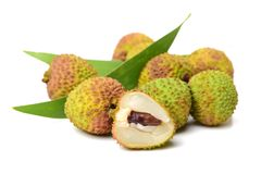 Litchi fruit Royalty Free Stock Images