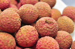 Litchi fruit Stock Images