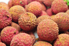 Litchi fruit Stock Image