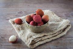 Litchi fruits Royalty Free Stock Photos