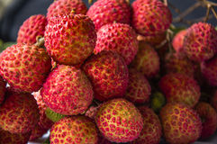 Litchi fruits closeup Stock Photo