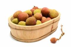 Litchi fruits Stock Photo