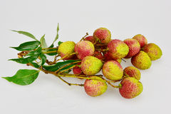 Litchi fruits Royalty Free Stock Image