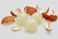 Litchi fruits. The Litchi fruits from Shenzhen China Royalty Free Stock Photos