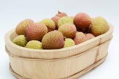 Litchi fruits Royalty Free Stock Photo