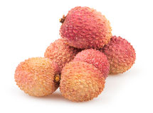 Litchi group Stock Photography
