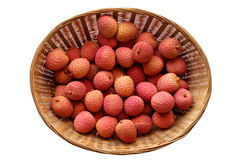 Litchi lichee lychee - Litchi Royalty Free Stock Photography