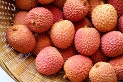 Litchi lichee lychee - Litchi chinensis Stock Photo