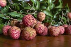 Litchi owoc Zdjęcie Royalty Free