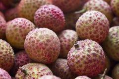 Litchi owoc Obraz Royalty Free