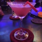 Litchiplommon martini Arkivbilder