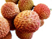 Litchis Stock Photo