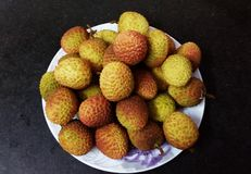 litchis photographie stock
