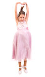 Lite ballerina arkivfoton