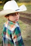 Lite Cowboy Fotografering för Bildbyråer