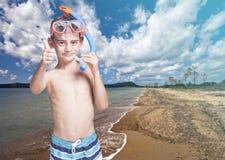 Lite dykare fotografering för bildbyråer