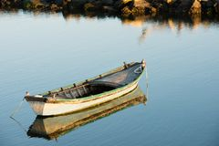Lite fartyg royaltyfri foto