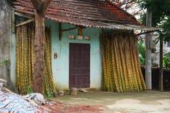 Lite hus i Moc Chau Royaltyfri Foto