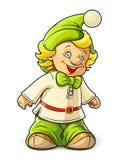 Lite gnomepojke Royaltyfri Fotografi