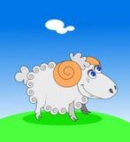 Lite lamb stock illustrationer