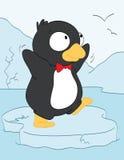 Behandla som ett barn pingvinet Royaltyfria Bilder