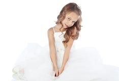 Lite princess fotografering för bildbyråer