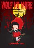 Lite röd ridninghuv Royaltyfria Foton