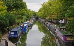 Lite Venedig i London Arkivbild