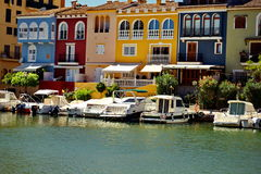 Port Saplaya i Spanien Royaltyfri Foto