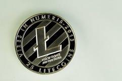 Litecoin современный путь обмена и этой секретной валюты Стоковое Изображение