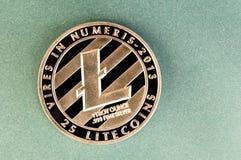 Litecoin современный путь обмена и этой секретной валюты Стоковое Изображение RF